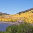 Fishlake, Sevier County Utah in Autumn.